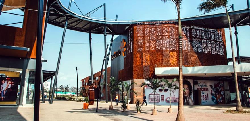 Crearon 11 rutas de bus para servir al Jardín Plaza